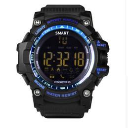 $enCountryForm.capitalKeyWord UK - Time Owner Bluetooth Clock EX16 Smart Watch Notification Remote Control Pedometer Sport Watch Waterproof Men's Or Women 's Wristwatch