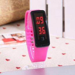 New Watch Touch Screen Australia - New Fashion Sport LED Watches Candy Jelly men women Silicone Rubber Touch Screen LED Digital Watches Women Men Bracelet Wrist watch