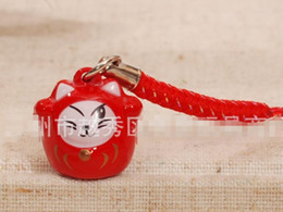 Cell Phone Jewelry Charms Canada - New 10 Pcs Cartoon Japanese anime bell Cell Phone Strap Charms Keychains Key Ring DIY Jewelry Making Accessories Ty-16