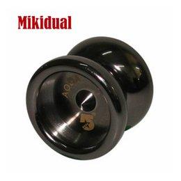 Venta al por mayor de Niños Pupila Juguetes al aire libre Metal muy pequeño YOYO Mini yo-yo Bolas de latón Yoyo estándar para 1A, 5A, 5A ancho 35mm dia.27mm