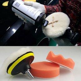 Гросс полировки полировки Pad Kit для авто Автомобиль полировки колеса Kit буфер с дрель адаптер 1set