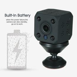 mini ir surveillance cameras 2019 - HD 720P Mini Wireless WiFi IP Camera Night View IR-CUT Motion Detection P2P + TF Card Slot CCTV Security Home Surveillan