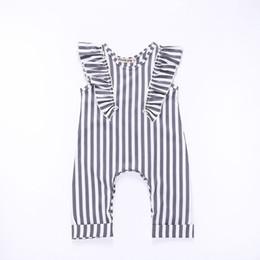 250b9aa1b3e Baby Boy Rompers Organic Cotton UK - Vieeoease Boys Girls Romper Christmas  Stripe Baby Clothing 2018