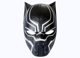 $enCountryForm.capitalKeyWord NZ - Panther helmet civil war masks mens adults America captain Masquerade Cosplay Christmas ball Halloween terror Costume Party cover
