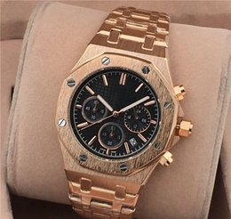 $enCountryForm.capitalKeyWord NZ - Auto date men dress watch gift male clocks+Fashion army military shocking watches men +Luxury Gold President Day Date Watch Men