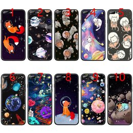 Phone Bags & Cases Babaite Cat Astronaut Dog Fox Space Moon Universe Tpu Soft Black Phone Case For Iphone X Xs Max 6 6s 7 7plus 8 8plus 5 5s Xr Half-wrapped Case