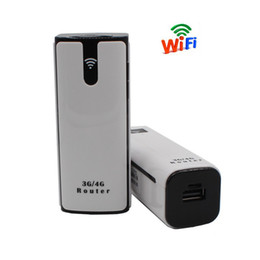 3g routers Australia - 3G Wifi Router With Sim Card Slot Mini Mifi Wireless Outdoor Portable Mobile repetidor Hotspot Unlocked Wi Fi Modem Power Bank