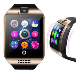 Bluetooth Smart Watch Sim Australia - Q18 smart watches for android phones Bluetooth Smartwatch with Camera Support Health Smart watches Tf sim Card Slot Bluetooth MQ10