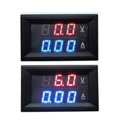 $enCountryForm.capitalKeyWord NZ - Freeshipping Dual display DC 100V 20A Ammeter Voltmeter Digital led Amp Volt tester Meter for 12V 24V CAR Battery
