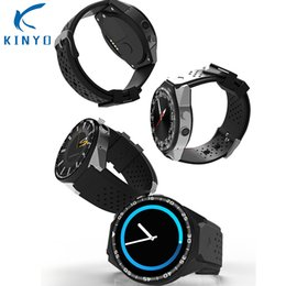 2018 2MP Kamera ile en çok satan Akıllı İzle 2 GB RAM 16 GB ROM SIM Kart 3G WIFI GPS Smartwatch 24 saat Kalp hızı izleme