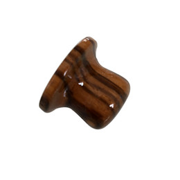 China Zebra wood guitar bass control knob top hat shape 6mm Tone Volume Konbs In Stock supplier zebra guitar suppliers