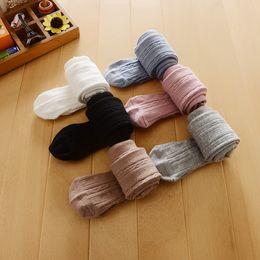 c823ae8fb Meninas meia-calça primavera crianças pequenas torção tricô leggings dia  das crianças partido princesa collants boutique de algodão macio de algodão  Y4239