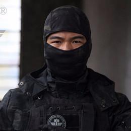 venda por atacado Airsoftsports Balaclava Tático Camuflagem Caça Paintball Equitação Máscara Facial Completa