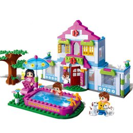 Dream houses online shopping - 405Pcs Bricks Friends Series Charm City Dream House Assemble Building Blocks Educational DIY Toys For Children Kids Girl