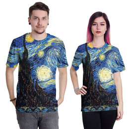 Night Shirt Men Canada - Wholesale Free Shipping Harajuku Style Men Women Galaxy Starry Night Leopard Lip Print 3d Sublimation T Shirt Casual Tee Tops