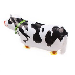 Toys Animes UK - New dairy cow Wedding Baby Shower Birthday Party Decoration Walking Animals Air Balloons Gifts For Baby inflatable Toy