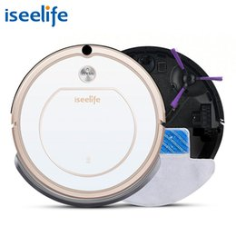 remote control robotics 2019 - 2017 Iseelife Smart Robot Vacuum Cleaner For Home 2 In1 Pro1s Dry Wet Mop Auto Charge Cleaning Robotic Cleaner Robot Asp