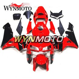 Honda F5 Canada - Red Black Full Fairings For Honda CBR600RR F5 2005 2006 Year 05 06 Injection Mold Body Kits Motorcycle Fairing Bodywork Bodywork Carenes