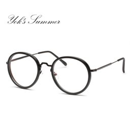 911a1ecca252 Discount korean spectacles - Yok s Summer Korean Small Round Eyeglass Frame  Retro Thin Metal Optical Spectacle
