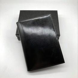 $enCountryForm.capitalKeyWord NZ - New Bestseller Men's Business Black Passport Wallet Credit Card Holder Cover Cover MB Leather MT Travel Wallet Passport Book