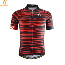 EMONDER 2018 Men Cycling jersey Pro Team Road Bike MTB Short Sleeve Maillot  Ciclismo Breathable Italy Antislip Sleeve Cuff 857c10a41