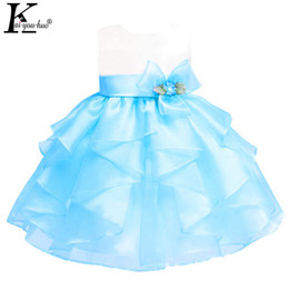 $enCountryForm.capitalKeyWord NZ - KEAIYOUHUO 2017 Girls Dress Sleeveless Sweet Princess Dress For Girls Summer Baby Girl Clothes Flowers Kids Costume Party Dress