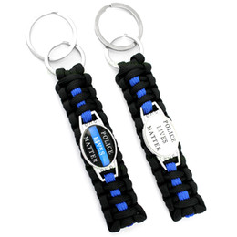 Discount dad daughter jewelry - Lives Matter Thin Blue Line My Hero Deputy Mom Sister Wife Aunt Grandma Dad Son Daughter Keychain Key Chains Jewelry Man