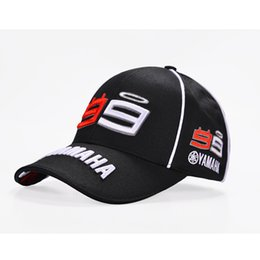 gps yamaha 2019 - IGGY 2017 New Moto Gp 99 Jorge Lorenzo YAMAHA Hats Cotton Motorcycle Racing Baseball Caps Snapback Sun Hats Cap For Men