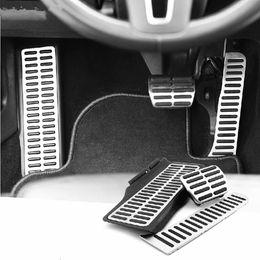 Vw Volkswagen Pedals NZ - 3 Pieces OEM Stainless steel pedals For VW Golf MK6 Jetta MK5 MK6 Lapin EOS Autos Accessories