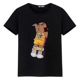 73a840ce80077 2018 Nueva Moda Para Hombre Camisetas Para Mujer de Dibujos Animados de Manga  Corta O Cuello Tops Camisetas Baloncesto Ropa Deportiva Estilo Hip Hop  Blusa ...