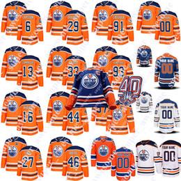 944887206 Edmonton Oilers 40th Patch Jersey Evan Bouchard Connor McDavid Leon  Draisaitl Ryan Strome Jesse Puljujarvi Ryan Strome Cam Talbot Jari Kurri