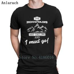 $enCountryForm.capitalKeyWord Canada - Mountains Call Travel Climb Hike Gift Tshirts Cool Round Neck Hip Hop Cotton Men's T Shirt 2018 Comfortable Basic Solid Print