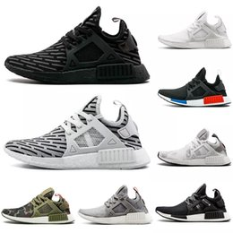 97d4a95cd0e36 NMD Olive OG XR1 Running Shoes Mastermind Japan Skull Fall green Camo  Glitch Black White Blue zebra Pack men Sneaker sports shoes 36-45 4