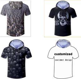 $enCountryForm.capitalKeyWord Canada - New Fashion Couples Men Women Unisex Hooded Tshirt Cool Skull 3D Print Casual Hoodies T-shirt T Shirt LM4