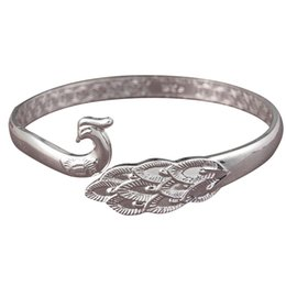 9b25ed747f New Style Peacock Bird Bracelets   Bangles For Women Chinese Tradition Style  Lady Jewelry Best Gift
