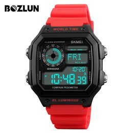 watches digital compass 2019 - BOZLUN Men's Smart Watch Digital SmartWatch Compass Calorie 50M Waterproof Sport Smart Watches Male Clock Reloj Int