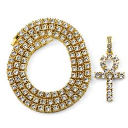 gold star pendant men 2019 - New Fashion Men Hip Hop Jewelry Key Pendant Necklaces Full Rhinestone Design American Star Popular Men Necklace With Cha