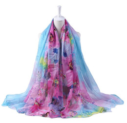 China Big Size Women Fashion Silk Floral Scarf Shawl Femme Novelty Brief Poncho Party Gift Cape Wrap Scarves 200*150cm suppliers