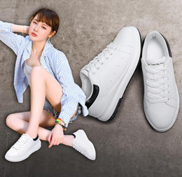 $enCountryForm.capitalKeyWord Australia - female casual sports white black shoes running shoe women shoes Korean versatile Lady leather shoes Sports & Outdoors A20