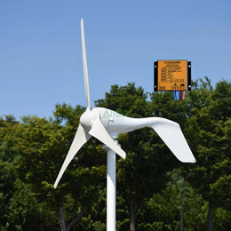 12v turbine online shopping - New w v v or blades wind turbine generator for streetlights use home use with MPPT controller