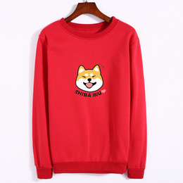 d492f749 New hot aNime online shopping - Women Sweatshirt Autumn Lovely Anime  Character Shiba Printed Hoodies Thickening