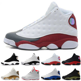 f0a046f5df6 Hot New 13 13s mens basketball shoes Hyper Royal Flints Ray Allen He Got  Game sneakers women sports trainers running shoes for men designer