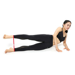 Fitness & Body Building Bright Ootdty Resistance Band Latex Gym Strength Training Rubber Loops Bands Elastic Pull Rope