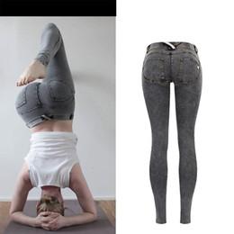 fd5595e2c8 5xl Snow Pants Canada - New Elastic jeans woman Snow Wash skinny low waist  women jeans