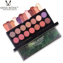 $enCountryForm.capitalKeyWord Canada - MISS ROSE Professional New 14 Color Eyeshadow Palette Shimmer Matte Beauty Make up Pallete Set Smoky Eye shadow Makeup