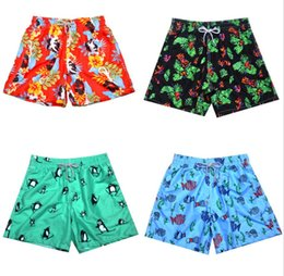 $enCountryForm.capitalKeyWord Canada - hot mens Bermuda Surf Beach Shorts green Quick Dry Beach Short Pants for men sexy loose fit swimming trunks drop shipping green
