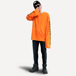 exo pullover UK - Plus Size Oversize Hoodie Women And Man Exo And Bigbang Same Super Long Sleeve Loose Couple Harajuku Hedging Hoodies