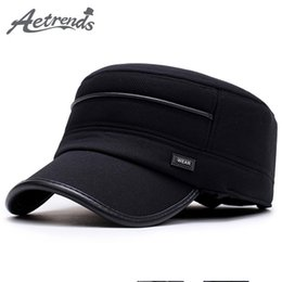 Discount bones black dad hat - [AETRENDS] 2017 New Winter Baseball Cap Men Snapback Bone Masculino Flat Hats for Men Caps Dad Hat Z-5911
