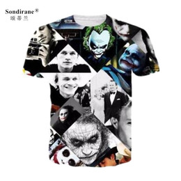 $enCountryForm.capitalKeyWord Canada - 2018 New Summer Women Mens Joker Funny 3D Print T Shirts Casual Short Sleeve T-Shirt Hip Hop Comfortable Clothing Tops Tees pluse size 7XL