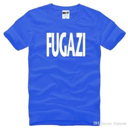 ffe14e76 New Design Fugazi T Shirts Men Cotton Short Sleeve HEAVY METAL PUNK POP Men's  T-Shirt Summer Style Male Music Rock Band Top Tees